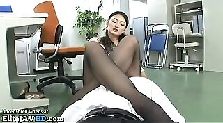 Stiffly Hung Japanese Cougar Loves Rough Anal