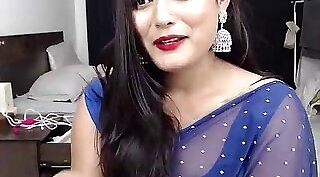 Indian beauty Cushie from alley chat with her nature