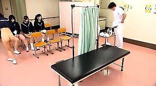 Japanese teenina schoolgirl drilled deeply in herroom