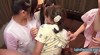 Busty Schoolgirls Playin Around Bedroom