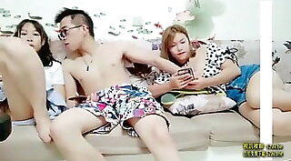 Cheating Chinese Wife Get Precum Creampied