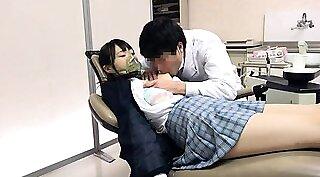 Adorable Japanese schoolgirl Keyiro Nagasawa is fond of dick