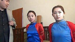 Chinese Brazole red high socks