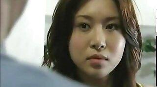 Attractive Japanese girl gives terrific round masturbation