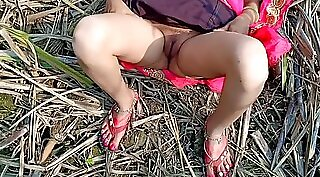 Asian Lady From India Breathtaking Outdoors