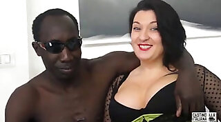 Curvy Italian milf takes a pounding from BBC in the pool