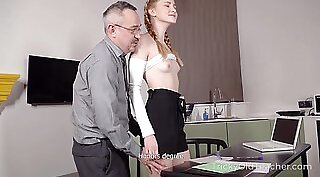 Student Rooms Sister Teases With Teacher!