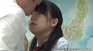 asian teen uniform bj and school girl love big cock