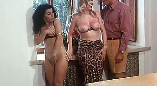 Italian vintage film of Madelyn Brookes opening her pussy