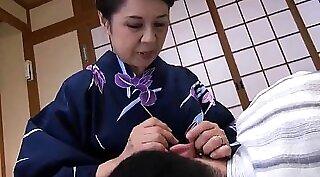 Chichi Medina - Young Japanese Granny Creampied