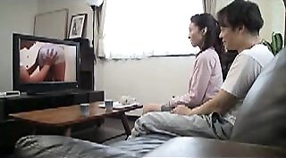 Young Japanese Housewife fucks with BBC