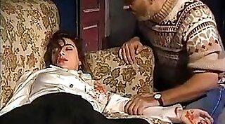 She shows man her manmeat in classic porn scene Italian Ex Girlfriend